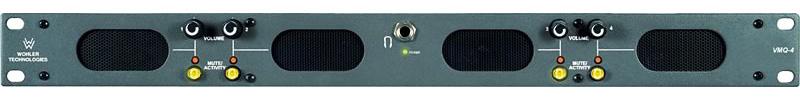 Wohler VMQ-4 4 Channel Speaker System-Phoenix Inputs WOH-VMQ-4