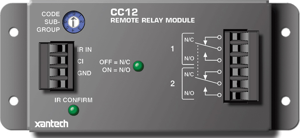 Xantech CC12 Remote Relay Module XAN-CC12