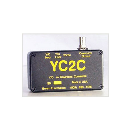 Burst YC2C YC to Composite Video Converter YC2C