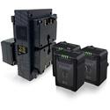 Core SWX NANO-G98K4 Compact 3-Stud Battery Kit - Q4 NANOG98 and Q1 GPX4A Hard Bundle