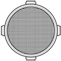 Lowel O1-19 Omni-Light Protective Screens for VIP lights