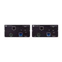 Atlona 100CER-PoE-EXT 4K/UHD HDMI Over 100M HDBaseT TX/RX Extender with Ethernet Control and PoE