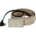 10 Ft. Power Extension Duplex Receptacle Beige