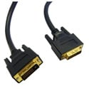 DVI-D / DVI-D Dual Link Cable. Black (6.6 ft)