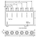VAC 11-143-104 1x4 Composite Video DA