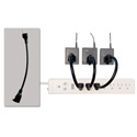 Powerstrip Maximizer with AC Port Saver Single Outlet Extender - 1 Foot