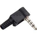 3.5mm TRRS 4 Conductor Right Angle Stereo Plug