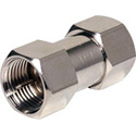 Steren F Coupler Male to Male Connector