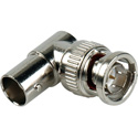 75 Ohm BNC Female to Male Right Angle Adapter