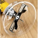 Ideal Adjustable Hole Saw With Dust Shield for 2in-7in Holes