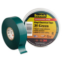 3M Scotch 35 Color Coding Electrical Tape 3/4 Inch x 66 Feet Green