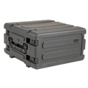 SKB 4 Space 20 Inch Deep Rolling Shock Rack - Black