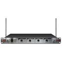Nady 401X QUAD LT/HT 401X Quad Receiver (2x) Lavalier (2x) Handheld