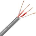 Canare 4S8 Star Quad 16AWG 4-Conductor Speaker Wire - Gray - Per Foot