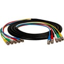 5-Channel BNC Video Snake Cable 3 Foot