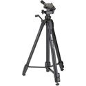 Sunpak Tripod with 3-Way Panhead Bubble Level and Quick Release