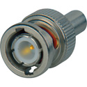 KINGS 755-114-9 50 Ohm BNC Crimp Plug for RG58 & RG411 Coaxial Cables with 0.150 to 0.250 inch OD