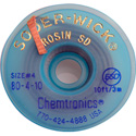 Chemtronics 80-4-10 Solder-Wick Rosin SD - .110 Inch Blue