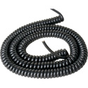 12 INCH PVC COILED POWER CABLE 18 AWG EXTENDS TO 5 FEET
