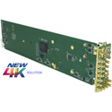 Cobalt Digital 9914DA-4X16-XPT-12G 12G/6G/3G/HD/SD-SDI Quad-Channel Multi-Rate Reclocking DA with x4 Output Crosspoint