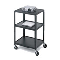 26-42 Inch Adjustable Height Mobile Table 24W x 18D