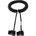 Anton Bauer 12V DC Power Cable - D-Tap to D-Tap -Coiled 1-3Ft