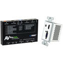 AVPro Edge AC-CXWP-VGA-100KIT VGA/HDMI Single Gang Decora Style Wall Plate HDBaseT Extender Kit - 100M HD/70M 4k- White