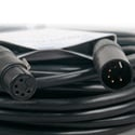 ACCU-CABLE AC5PDMX5PRO 5 Pin Pro DMX Cable - 5 Foot