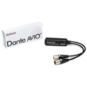 Audinate ADP-DAO-AU-0X2 Dante AVIO Analog Output Adapter with RJ45 & 2 XLR males 2 channel version - Bstock (Show Used)