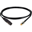 AES-SPDIF XLF to RCA Digital Audio Cable 6Ft
