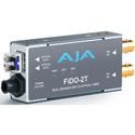 AJA FiDO-2T Dual Channel SDI to Fiber Converter Transmitter