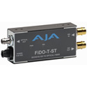 AJA FiDO-T-ST 1-Channel SDI to ST Fiber Converter w/Looping SDI Out