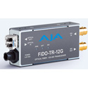 AJA FiDO-TR-12G 1-Channel 12G-SDI/LC Single-Mode LC Fiber Transceiver