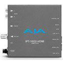 AJA IPT-10G2-HDMI HDMI to SMPTE ST 2110 Video and Audio IP Encoder with Hitless Switching