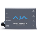 AJA Mini-Connect Control AJA Mini-Converters via Ethernet
