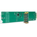 AJA OG-3GDA-1X9 openGear 1x9 3G-SDI Re-clocking Distribution Amp with 10 BNC Rear Module