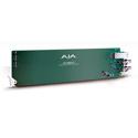 AJA OG-FIBER-2T openGear Transmitter 2-Channel SDI to 2-Channel LC Fiber Converter