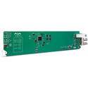 AJA OG-FIDO-2R 2-Channel Single Mode LC Fiber to 3G-SDI Receiver - DashBoard Support