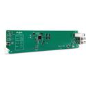 AJA OG-FIDO-TR 1-Channel 3G-SDI/LC Single Mode LC Fiber Transceiver - DashBoard Support