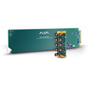 AJA OG-1x9-SDI-DA openGear 1x9 3G-SDI Re-clocking Distribution Amp with 10 BNC Rear Module