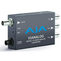 AJA V2Analog HD/SD-SDI to Component/Composite Analog Mini-Converter