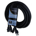 American DJ Accu-Cable SKAC25 Audio Data XLR/IEC Power Cable - 16AWG - 25 Foot