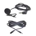 Amplivox S2030 Electret Lapel Mic with 40 Inch Cord