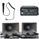 Amplivox S312 Sound Cruiser with dynamic handheld mic with 5 foot cord