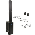 Anchor Beacon 2 BEA-DUAL-BB Dual Package with BEA2-XU2 2 WB-LINK Body Packs with 2 Lapels & 2 Headset Mics