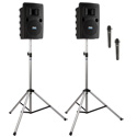 Liberty LIB-DP2-AIR-HH Deluxe AIR Package 2 includes LIB2-XU2 LIB2-AIR 2 SS-550 and 2 WH-LINK Wireless Handheld Mics