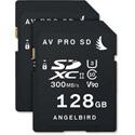 Angelbird Angel-AVP128SDX2 AVpro SD Memoy Card - 128GB - 2 Pack