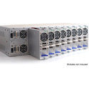 Apantac MiniQ-3U-FR 3 RU Chassis - Accepts up to Eight MiniQ Modules Mounted Vertically - with 2 Hot Swappable PSU