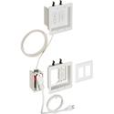Arlington TVBRA2K Two-Gang Power/Low-Voltage TV Bridge II Kit