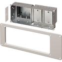 Arlington TVBS613BL Steel Recessed TV Box for Power/Low Voltage - Black